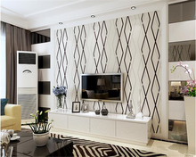 beibehang Modern wallpaper thick lattice classic film background bedroom living room nonwoven deerskin papel de parede wallpaper beibehang wallpaper mediterranean style nonwoven fabric lattice bedroom living room children room full of wallpaper