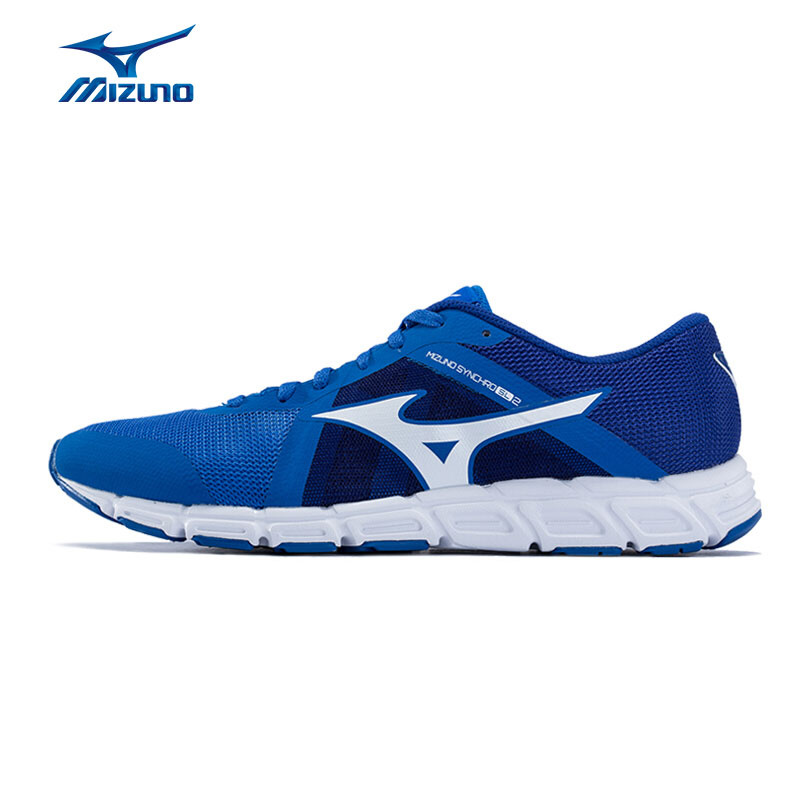 MIZUNO Men's SYNCHRO SL2 Running Shoes Light Weight Cushion Sports Shoes Sneakers J1GE172842 XYP502 mizuno men rebula v3 ag professional cushion soccer shoes sports shoes comfort wide sneakers p1ga178603 yxz069