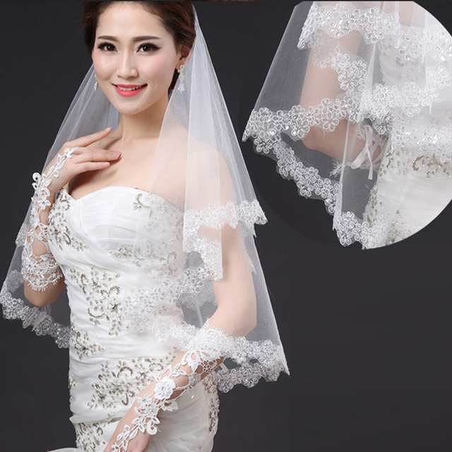 2017 New Wedding Veil Solid Color Bride Dress Soft Yarn 3 Meters Long Trailing