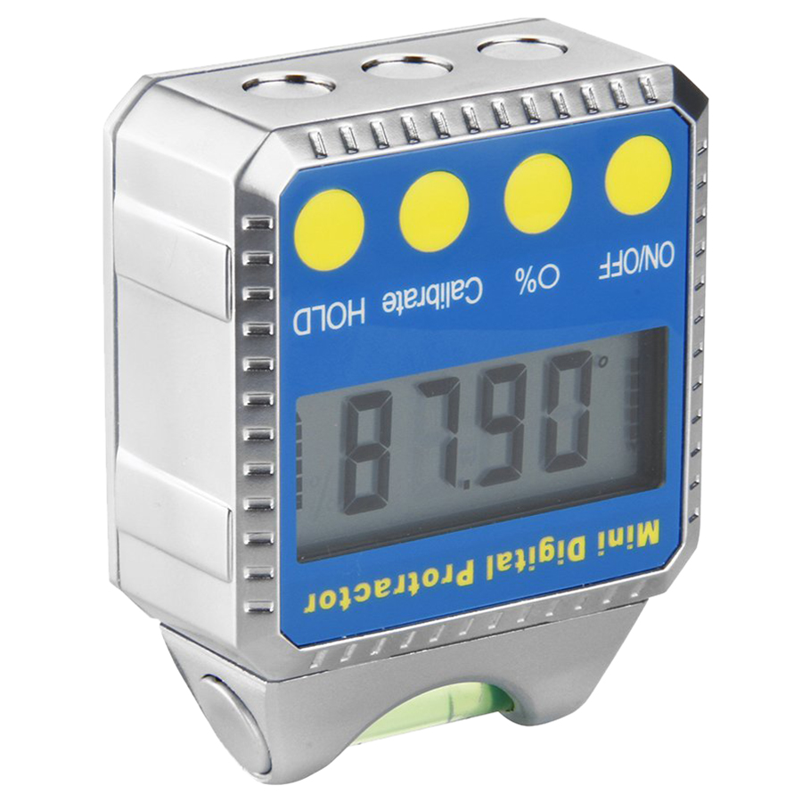 High Quality Digital Angle Gauge Mini Protractor horizontal Bevel Box LCD Display Clinometer with Spirit Level + Installed Bat  цены