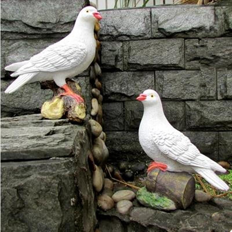 Smole ptičje obrti, simulacijski golob, vrtni okraski, vrtna - Dekor za dom - Fotografija 1