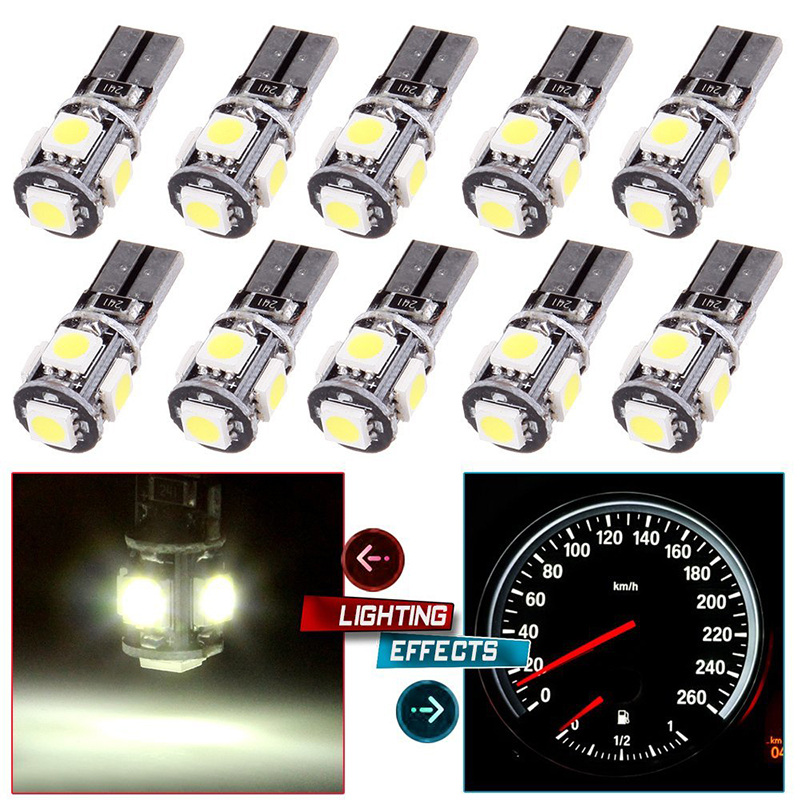 T10 W5W 8SMD CANBUS LED Lights VW AUDI BMW R1200RT R1200GS F800R F650 All Models