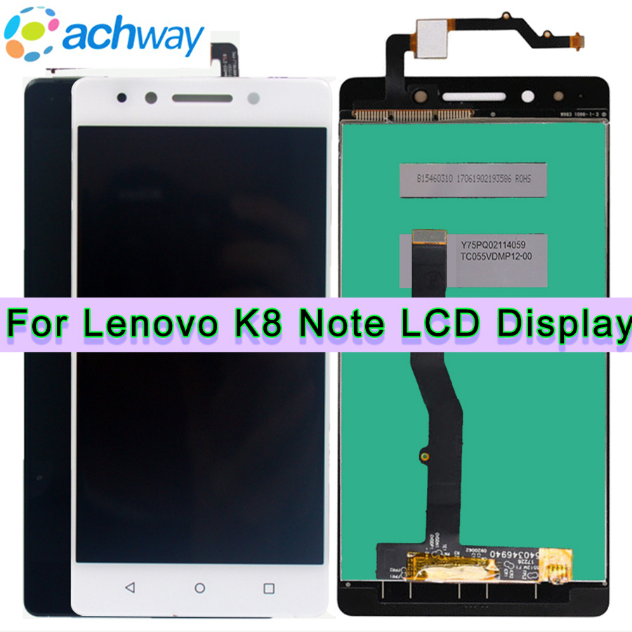 K8 Note LCD Display