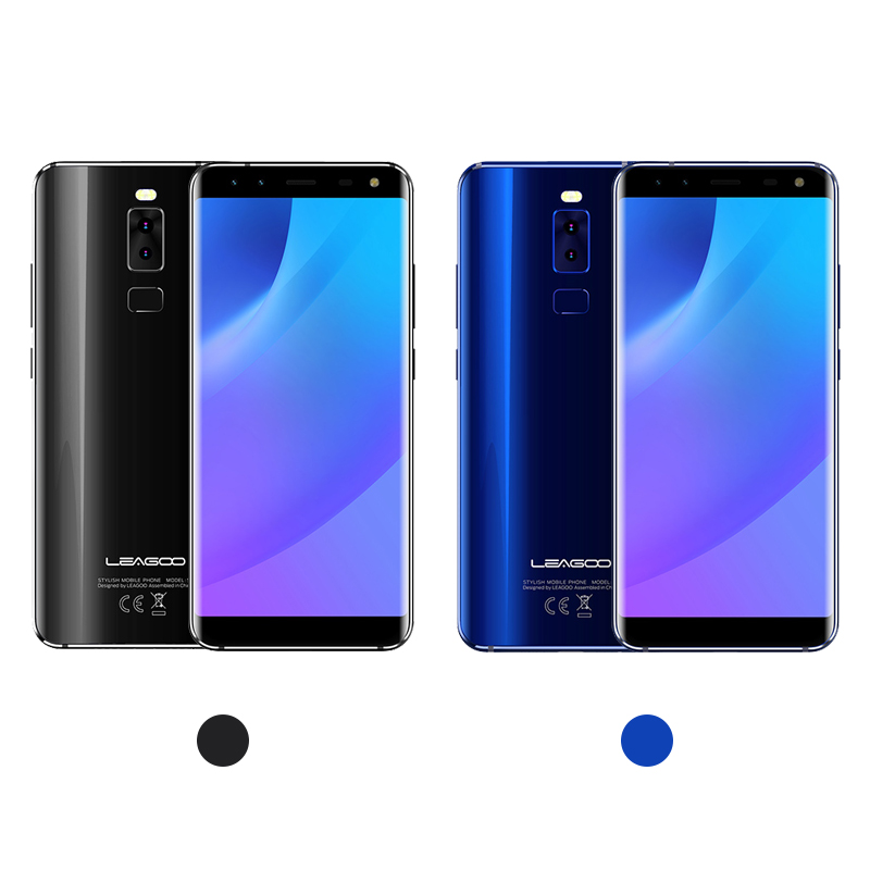 LEAGOO S8 3GB 32GB Mobile Phone Android 7.0 5.72'' Full Display  MTK6750T Octa Core 13MP 4 Cameras Fingerprint ID 4G Smartphone-in Cellphones from Cellphones & Telecommunications    3