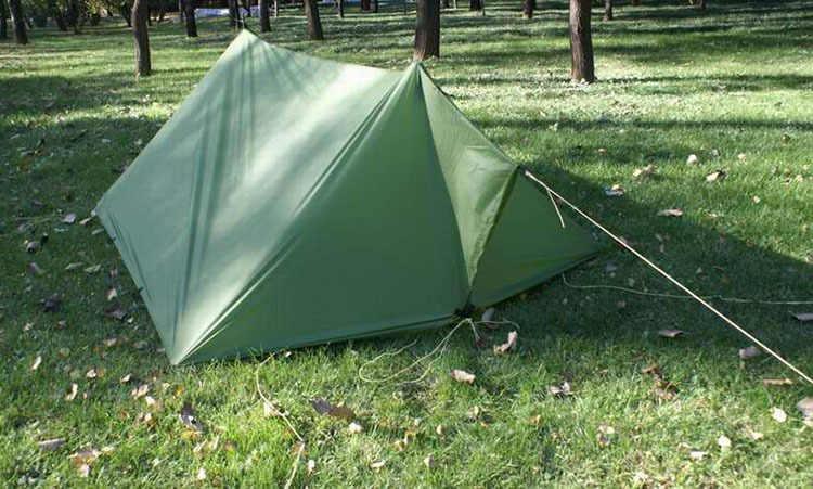 3*3M 210T dengan Lapisan Perak 3F UL Gear Outdoor Terpal Berjemur Shelter Berkualitas Tinggi Pantai Tenda