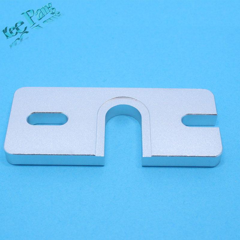 3D printer accessory Hot End Aluminum Mount Plate For J-head DIY Hot End oxidation treatment