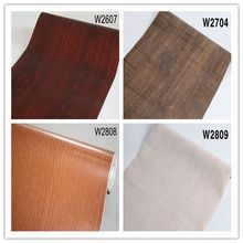 DIY Film Self Adhesive Wallpaper Wall Sticker Wood Grain Furniture Renovation  Kitchen Cabinet Waterproof Decoration