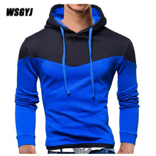 Men'S Sweatshirt  2017 Brand Sweatshirt Men Hoodies Fashion Stitching Hoodie Mens  Mens Tracksuits Moleton Masculino M-XXL