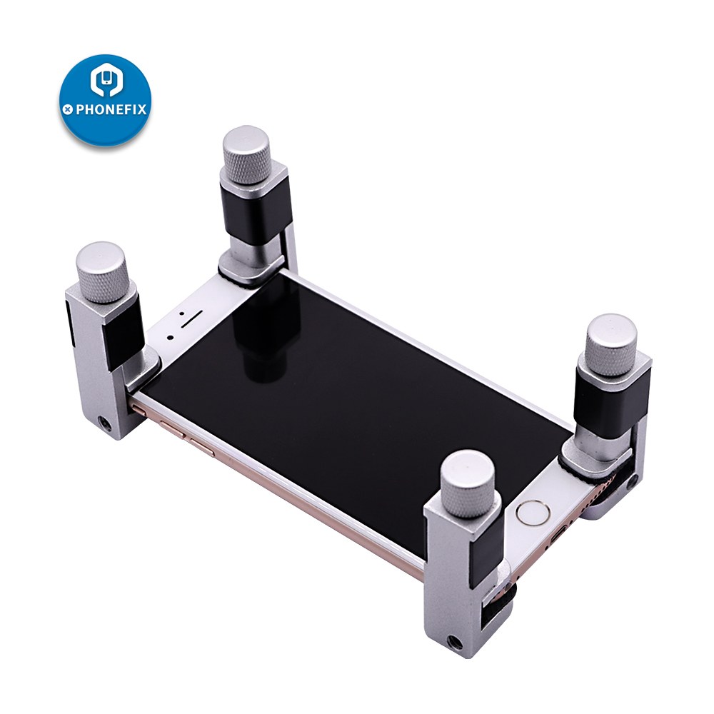 Universal Phone Screen Positioning Metal Clip Fixture Adjustable Clamp Holder Phone Tablets Repair Tool For IPhone IPad Samsung