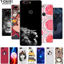 Z17Lite Cover For ZTE Z17 Lite Case Silicone Soft TPU Case For ZTE NUBIA Z17 Lite Case Cover Z17Lite Z 17 Lion Cartoon Cute Capa(China)