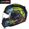 Venda quente LS2 FF352 Crânio Capacete Da Motocicleta Rosto Cheio Mens corridas de capacetes ece aprovado capacetes casco moto l xl xxl tamanho