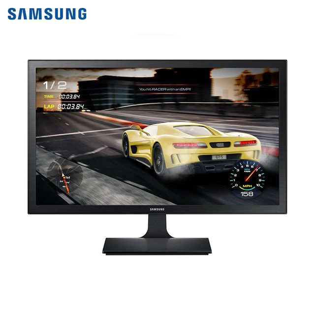 "Монитор Samsung 27"" S27E332H (TFT TN, FHD, 1 мс, D-SUB, HDMI) чёрный"