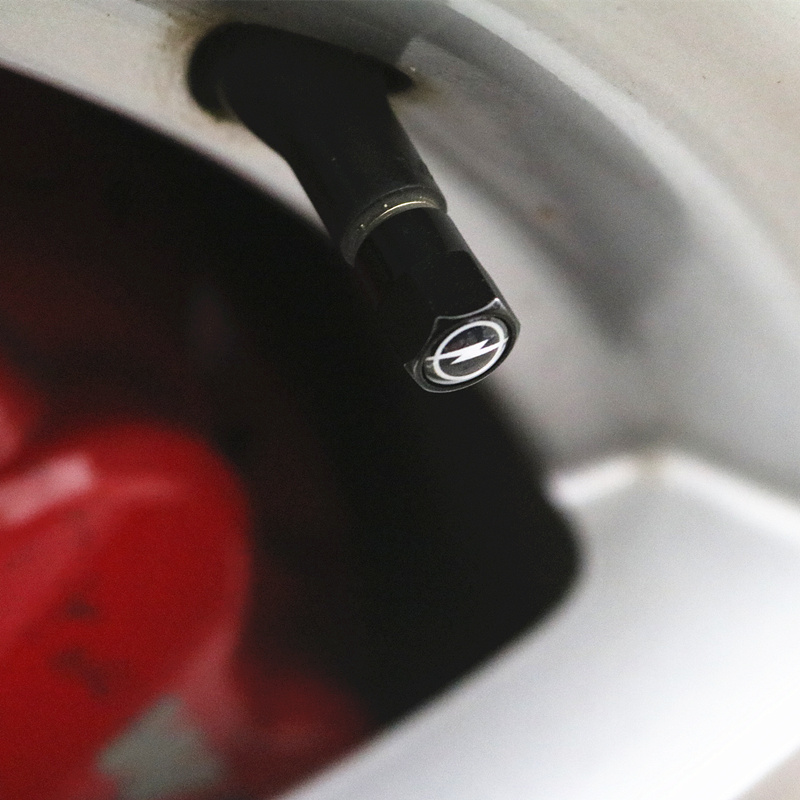 4pcs style Metal Wheel Tire Valve Caps Case For Vw Hyundai Toyota Nissan Audi Skoda Renault Opel Lada Chevrolet Car Accessories 8