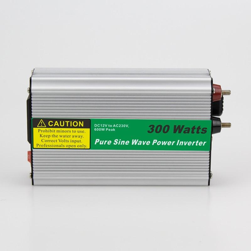 цена на MAYLAR@ 1pcs 300W Car Power Inverter Converter DC 12V to AC 110V or 220V Pure Sine Wave Power Solar inverters