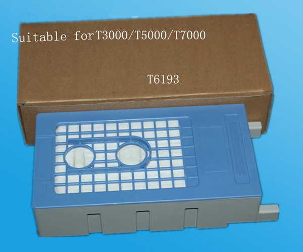 T6193 waste ink tank/maintenance tank for epson surecolor T3000 T5000 T7000 best price stable maintenance ink tank for epson surecolor t3070 t5070 t7070 printer waste ink tank
