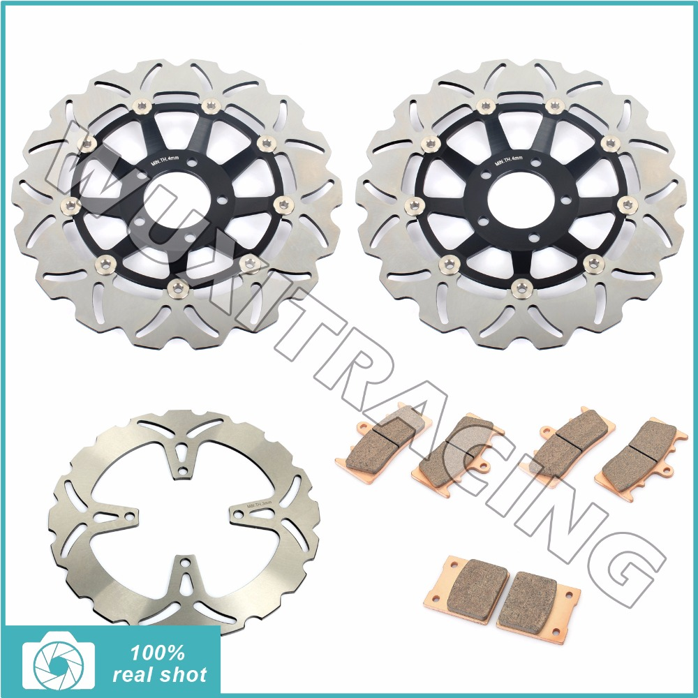 310mm Full Set Front Rear Brake Discs Rotors + Sintered Pads for SUZUKI GSXR750 GSXR1100 GSXR 750 GSXR 1100 1993 1994 1995 1996 full set front rear brake discs disks rotors pads for suzuki gsxr 750 94 95 gsx r 1100 p r s t 1993 1994 1995 1996