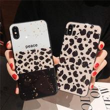 Gold foil Leopard case For Huawei P20 Lite P10 Plus Back cover Mate 10 20 Pro Nova 2S 3 3i 3e phone cases