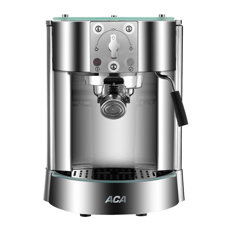 1250W 15bar Pump Pressure Coffee Machine Italian Semi-automatic Steam Type Stainless Steel цены онлайн