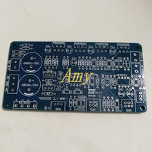 5pcs/lot TDA2030A 2.1 super bass amplifier, empty PCB board, does not contain any components