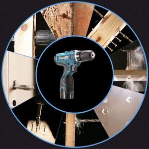 Image 5 - LOMVUM wiertarka elektryczna wodoodporna Parafusadeira akumulatorowa wkrętarka elektryczna wielofunkcyjne elektronarzędzia Mini wiertarka akumulatorowa