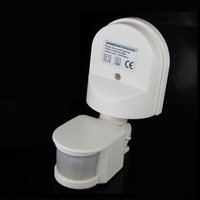 Waterproof180 Degree 12M Automatic Adjustable Security Infrared Motion Sensor Switch PIR Detector Wall Mount Outdoor Light