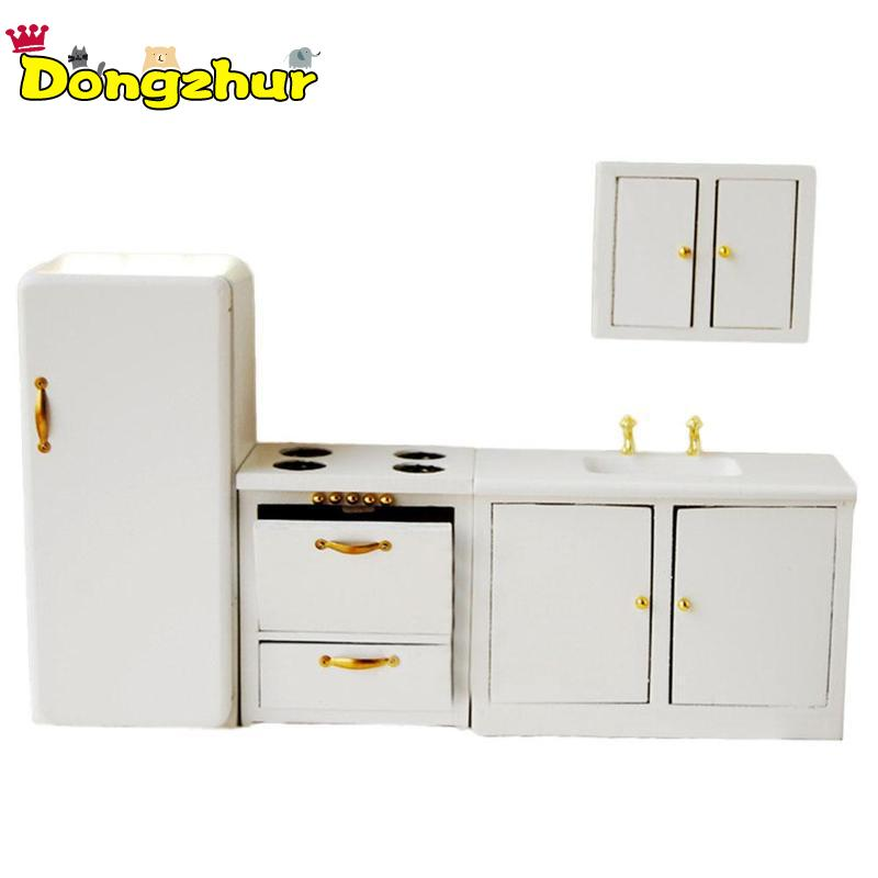 4Pcs Pure White Miniature Furniture Living Room Kitchen Modern Cabinet  DIY Home Decor Kids Toy For 1/12 Scale Dollhouse WWP39784Pcs Pure White Miniature Furniture Living Room Kitchen Modern Cabinet  DIY Home Decor Kids Toy For 1/12 Scale Dollhouse WWP3978