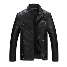 New Leather Jacket Men chaqueta Jaqueta Couro Masculino Bomber Leather Jackets Coat Motorcycle Jacket jaqueta de couro masculina