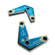 2 шт. двойного назначения сварки магнитный держатель угол фиксатор положение сварочное устройство позиционер 60/90 градусов