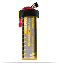 You&me 14.8V 3800MAH 35C MAX 70C AKKU LiPo RC Battery For rc Helicopter quadcopter