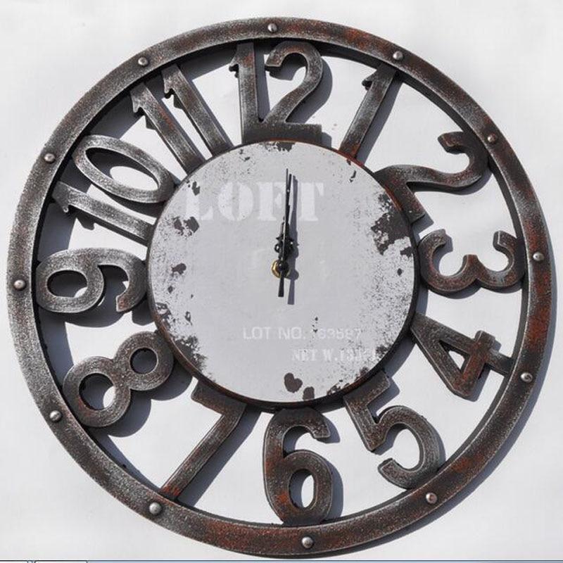 2017 zegar ścienny Saat Reloj zegar Relogio de parede duvar saati - Wystrój domu - Zdjęcie 5