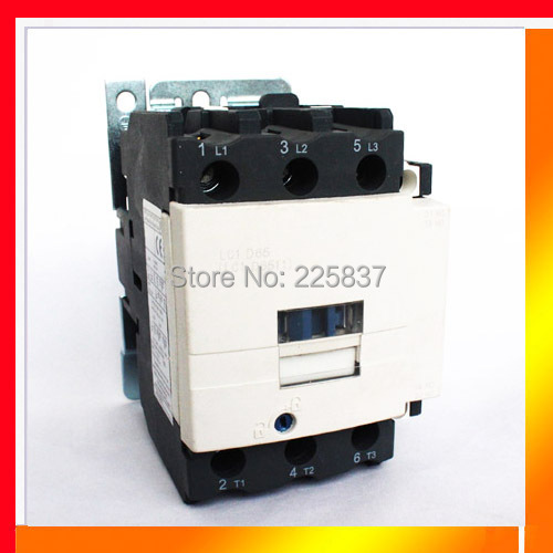 Free shipping new LC1D50 LC1D contactor lc1-d50 50A high quality 220V Coil Voltage 50/60Hz AC contactor new lc1d300m7c tesys d contactor 300a ac 220v 50 60hz lc1 d300m7c