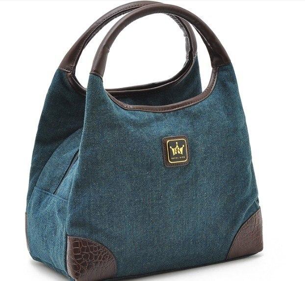New Vintage Jeans Canvas Handbag Totes Shoulder Bag-in Top-Handle ... 1be86334d2