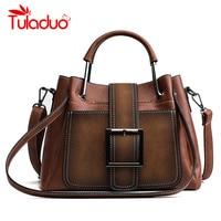 Brand Rivet Women Handbag Large Capacity Women Bag Casual Tote Women Soft Leather Handbags Female Shoulde