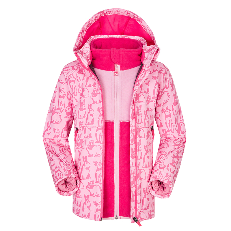 Winter New Children's Single And Double Board Ski Wear Hiking Adventure Outing Children's Outdoor Equipment Waterproof Jacket