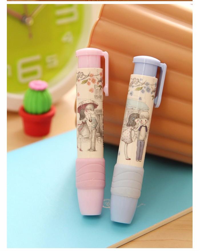 ممحاة قلم رصاص على شكل قلم 11