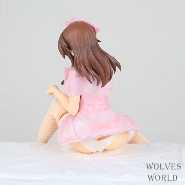 22CM Anime Lechery Daydream Nurse Miyuu 1/6 PVC Sex Girls  Action Figure Brinquedos Collectible Model Toy 1