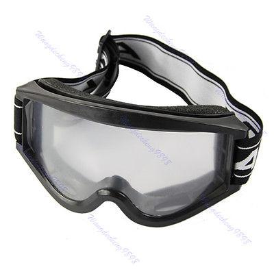Adult Youth Motorcycle Raider Motocross Dirt Bike ATV Goggle Goggles Black Drop shipping