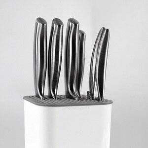 Image 4 - Youpin Huohou kuchnia stojak na noże uchwyt narzędziowy narzędzie wielofunkcyjne uchwyt stojak na noże Cooktops Tube półka Chromorph