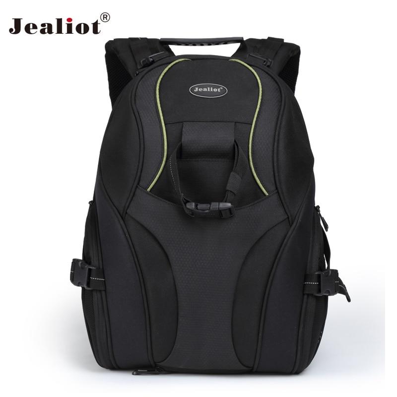 2018 Jealiot Camera Backpack Bag DSLR SLR Video Photo lens mochila Bags waterproof digital case for 14 inch laptop Canon Nikon