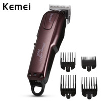 Kemei KM 2600 Professional Electric Hair Clipper Professional Men Hair Trimmer Rechargeable Styling Haircut Machine+4 Guide Comb