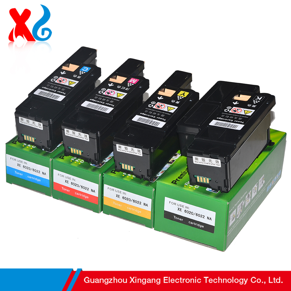 1Set Compatible Toner Cartridge Replacement for Xerox Phaser 6000 6010 Workcentre 6015 106R01631 106R01632 106R01633 106R01634
