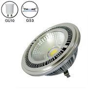 4 шт/лот 10 Вт cob led g53 ar111 лампа ac85 265v gu10 прожектор