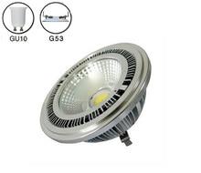 5pcs/lot 10w COB led AR111 lamp AC85-265V spotlight warm white cold 3 years warranty