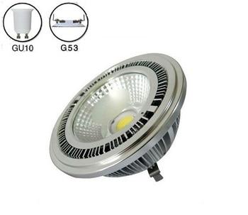 4pcs/lot 10w COB led G53 AR111 lamp AC85-265V GU10 AR111 spotlight warm white cold white 3 years warranty
