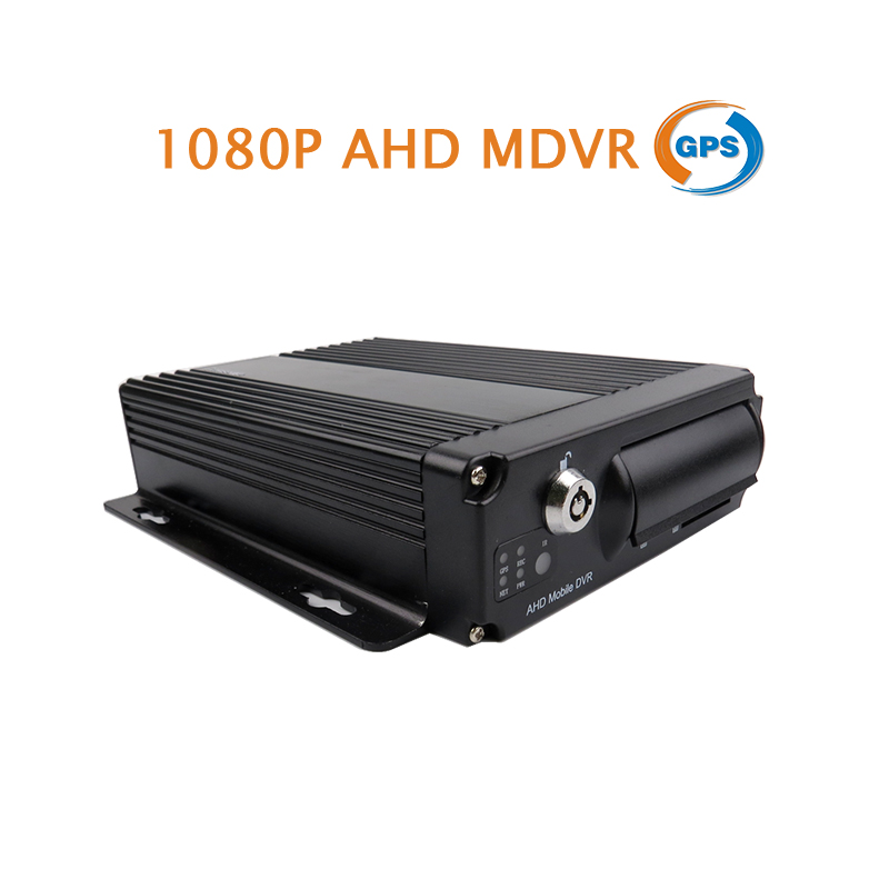 Free Shipping 4 Channel H.264 GPS Track 2.0MP 1080P AHD 256GB SD Mobile Car DVR MDVR Video Recorder for Truck Van Bus brand new 4 channel h 264 i 0 128gb sd car vehicle dvr mdvr d1 cif video recorder cycle recording in stock free shipping