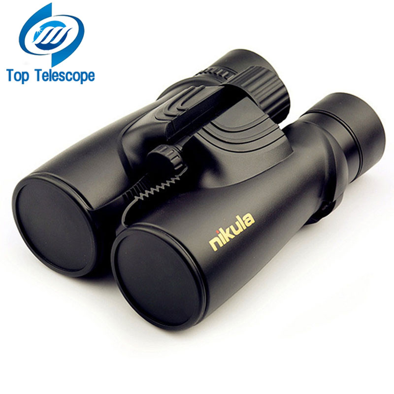 Nikula 10X42 бинокль новый профессиональный азота Водонепроницаемый телескоп мощный Bak4 Ночное видение Охота Сфера военно-компактный