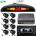 Car detector reversing radar LED display parking sensors 8 sensors reverse car-detector system parktronic parking radar