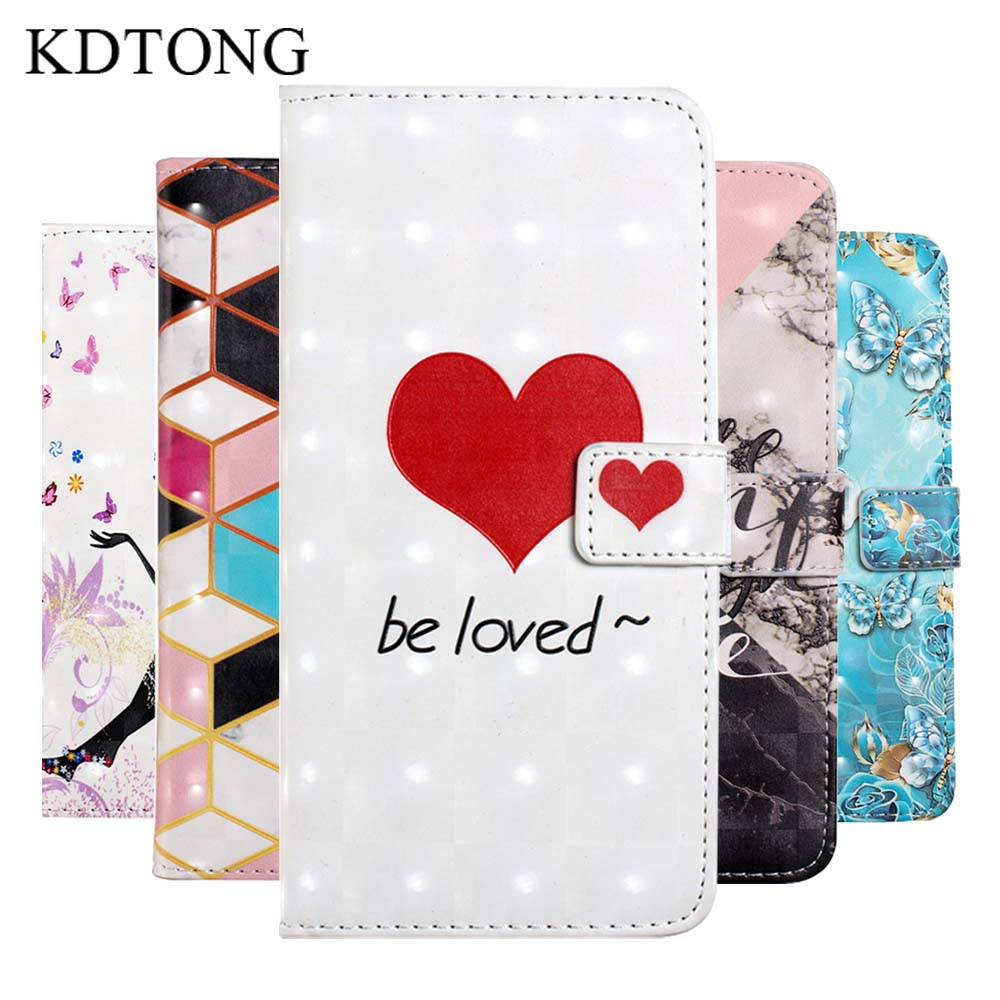 KDTONG Case sFor Xiaomi Redmi Note 6 Pro Case Flip PU Leather Magnetic Wallet Card Cover For Xiaomi Redmi Note 6 Case Cover Capa in Flip Cases from Cellphones Telecommunications