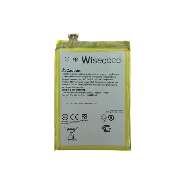 Wisecoco C11P1424 Battery For ASUS Zenfone 2 Z00A/Z00AD/ZE551ML/ZE550ML/Z00ADB/Z00BD 5.5inch Phone With Tracking Number