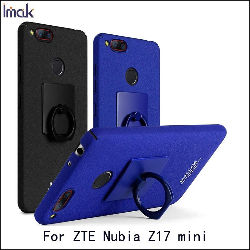 Case For ZTE font b Nubia b font Z17 Mini Imak Hight Quality Back Cover For